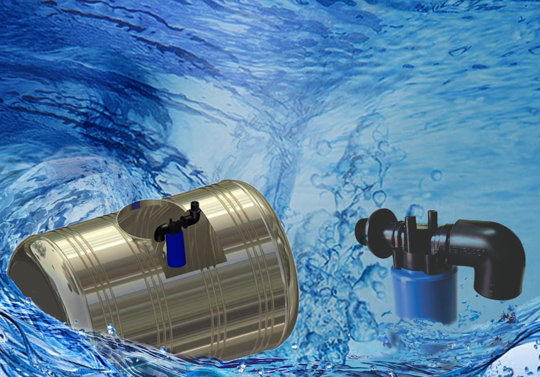 Dùng loại phao cơ 27 nào để chống tràn nước hiệu quả?