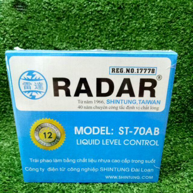 Review dòng phao cơ Radar hoạt động như thế nào?