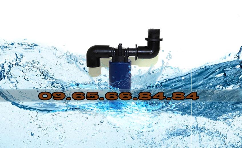 Van phao cơ bể nước